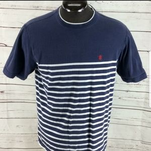 IZod saltwater relaxed classic striped tee shirt